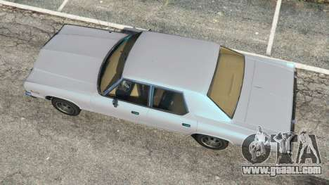 GTA 5 Dodge Monaco 1974 [Beta] back view