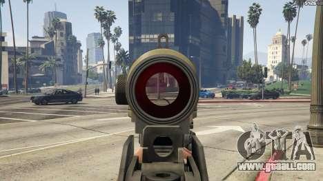 GTA 5 Battlefield 3 G36C v1.1 seventh screenshot