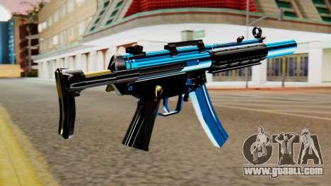 Fulmicotone MP5 for GTA San Andreas second screenshot