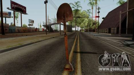 Original HD Shovel for GTA San Andreas second screenshot