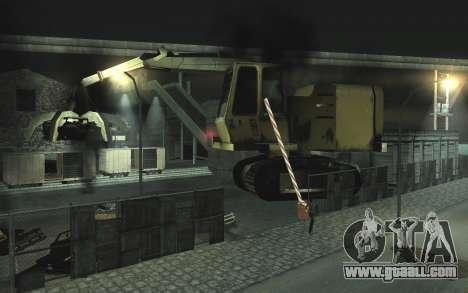 Automotive junkyard v0.1 for GTA San Andreas second screenshot