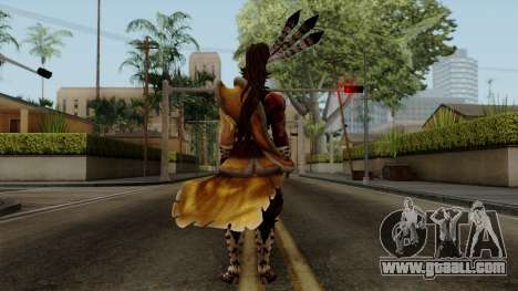 Sengoku Basara 3 - Maeda Keiji for GTA San Andreas third screenshot