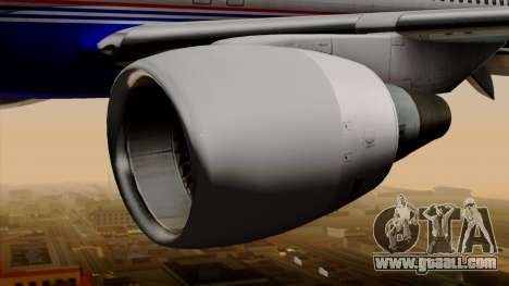 Boeing 757-200 (N757A) for GTA San Andreas right view