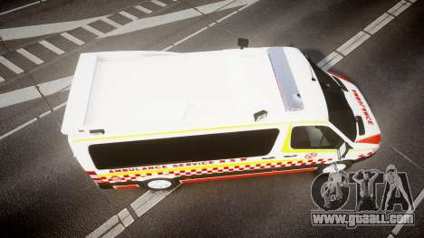 Mercedes-Benz Sprinter NSW Ambulance [ELS] for GTA 4 right view
