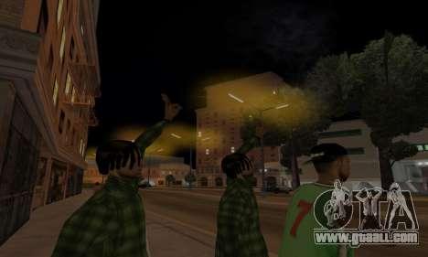 Lamppost Lights v3.0 for GTA San Andreas fifth screenshot