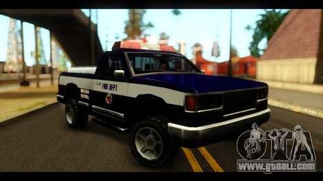 FDSA Brush Patrol Car for GTA San Andreas