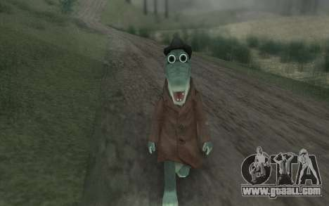 Crocodile Gena for GTA San Andreas third screenshot