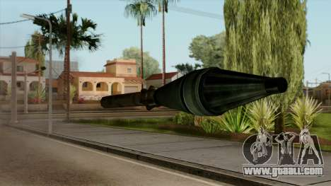 Original HD Missile for GTA San Andreas third screenshot