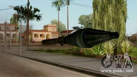 Original HD Missile for GTA San Andreas third screenshot