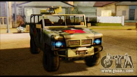 BAW BJ 2022 for GTA San Andreas back left view