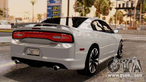 Dodge Charger SRT8 2012 LD for GTA San Andreas left view