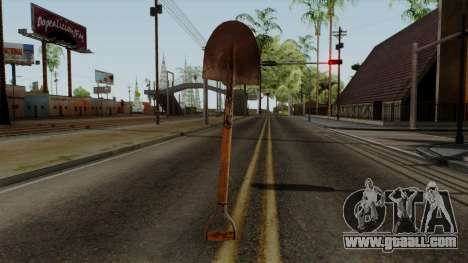 Original HD Shovel for GTA San Andreas third screenshot