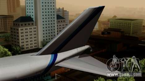 Boeing 747 Eastern for GTA San Andreas back left view
