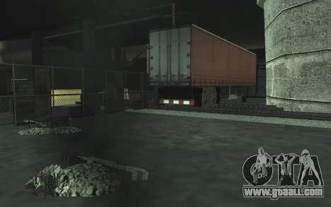 Automotive junkyard v0.1 for GTA San Andreas
