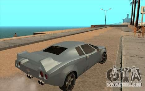 GTA VC Infernus SA Style for GTA San Andreas side view