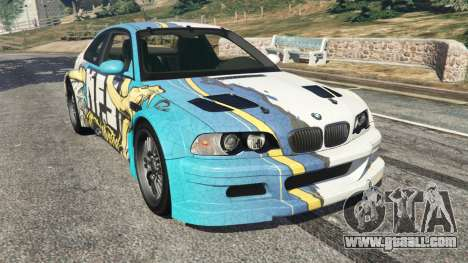 BMW M3 GTR E46 PJ4 for GTA 5