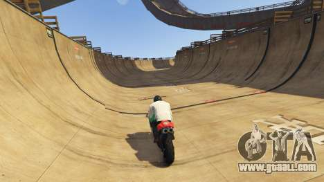 GTA 5 Double-Loop Racing-Court