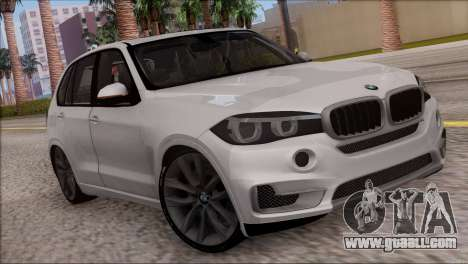 BMW X5 F15 BUFG Edition for GTA San Andreas