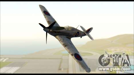 Hawker Hurricane MK IA for GTA San Andreas
