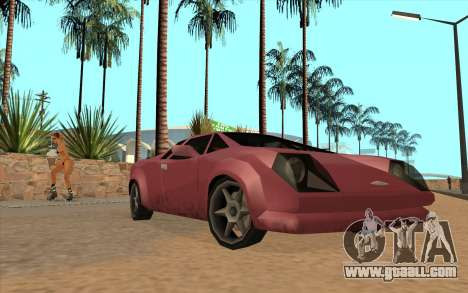 GTA VC Infernus SA Style for GTA San Andreas