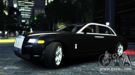 Rolls-Royce Ghost 2013 v1.0 for GTA 4 left view
