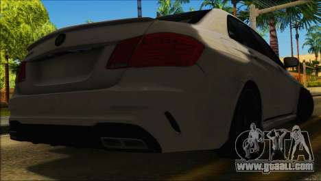 Mercedes-Benz E63 Brabus BUFG Edition for GTA San Andreas inner view