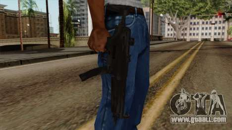 Original HD MP5 for GTA San Andreas third screenshot
