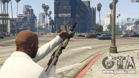 GTA 5 Battlefield 3 G36C v1.1 fourth screenshot
