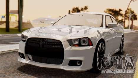 Dodge Charger SRT8 2012 LD for GTA San Andreas