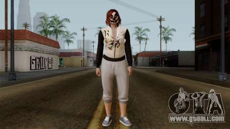 GTA 5 Online Female01 for GTA San Andreas second screenshot