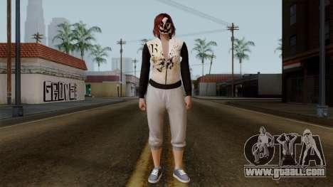 GTA 5 Online Female01 for GTA San Andreas second screenshot