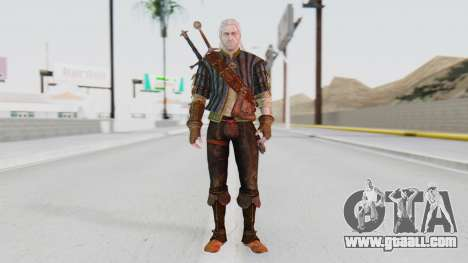 [The Witcher] Geralt for GTA San Andreas second screenshot