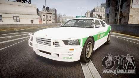 Bravado Buffalo Police [ELS] for GTA 4