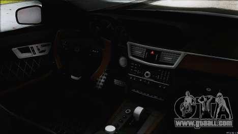 Mercedes-Benz E63 Brabus BUFG Edition for GTA San Andreas upper view