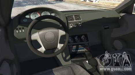 GTA 5 BMW M3 GTR E46 PJ1 right side view