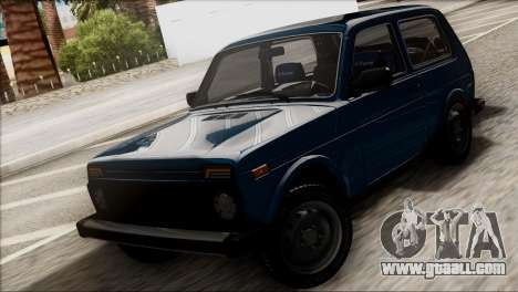 VAZ 2121 Niva BUFG Edition for GTA San Andreas