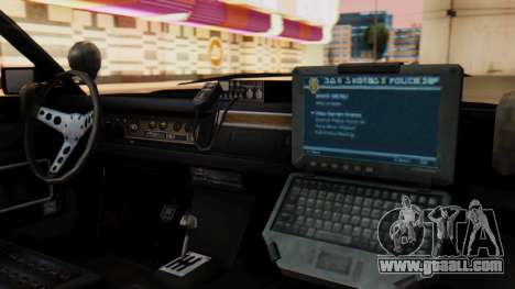 GTA 5 Albany Esperanto Police Roadcruiser for GTA San Andreas right view
