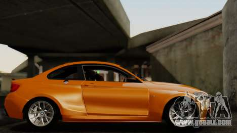 BMW M235i F22 Sport 2014 for GTA San Andreas back view