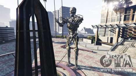 Statue T-800 for GTA 5