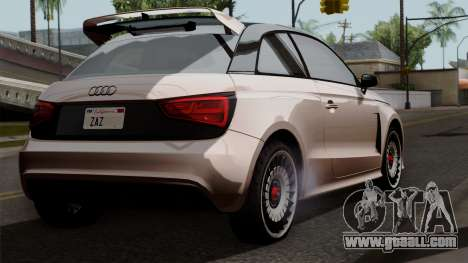 Audi A1 Quattro Clubsport for GTA San Andreas left view