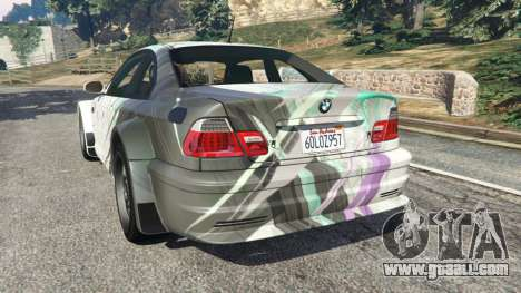 BMW M3 GTR E46 PJ2 for GTA 5