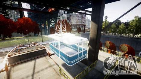 GTA V Cable Car for GTA 4 second screenshot