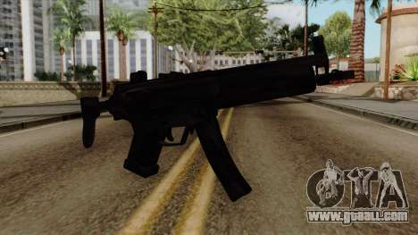 Original HD MP5 for GTA San Andreas