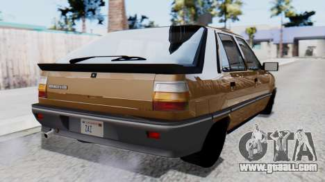 Renault 11 Tuning for GTA San Andreas left view