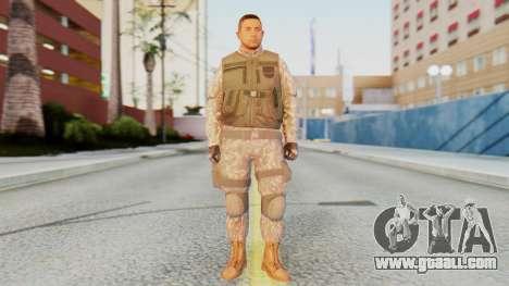 [GTA5] BlackOps1 Army Skin for GTA San Andreas second screenshot