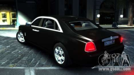 Rolls-Royce Ghost 2013 v1.0 for GTA 4 right view