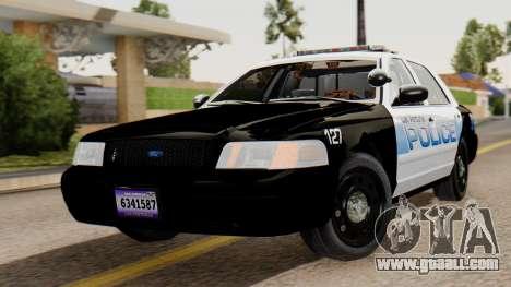 Police LV 2013 for GTA San Andreas
