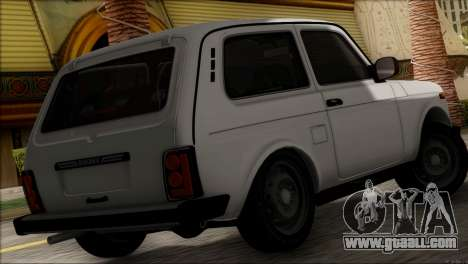VAZ 2121 Niva BUFG Edition for GTA San Andreas left view