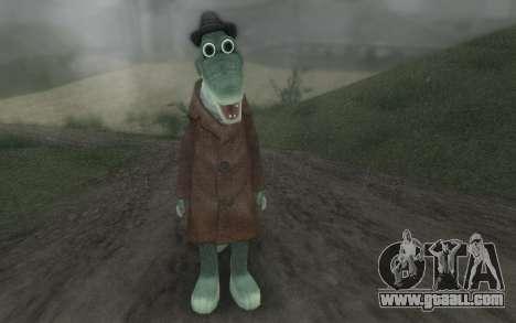 Crocodile Gena for GTA San Andreas second screenshot