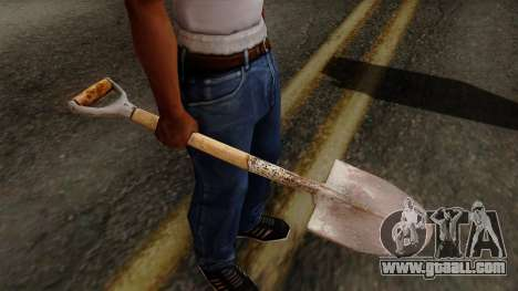 Original HD Shovel for GTA San Andreas